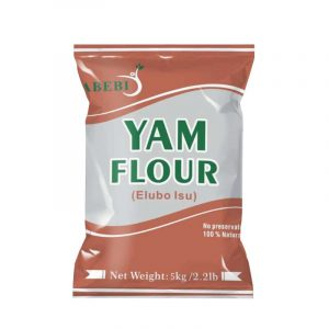 Abebi Foods Yam Flour 5kg