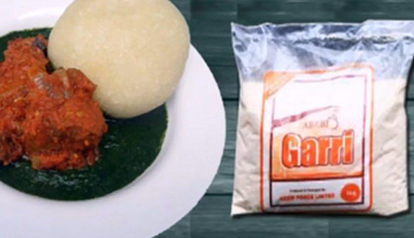 How to Prepare Eba with Abebi Garri for Eba